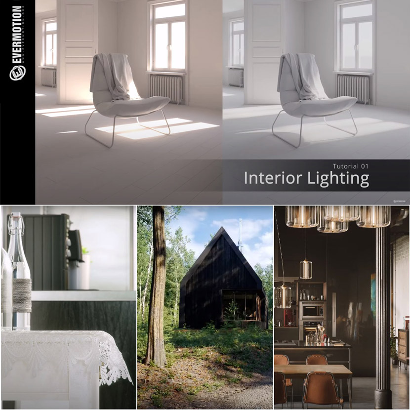 Evermotion - Free archviz training online